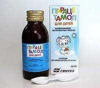 Парацетамол суспензия
