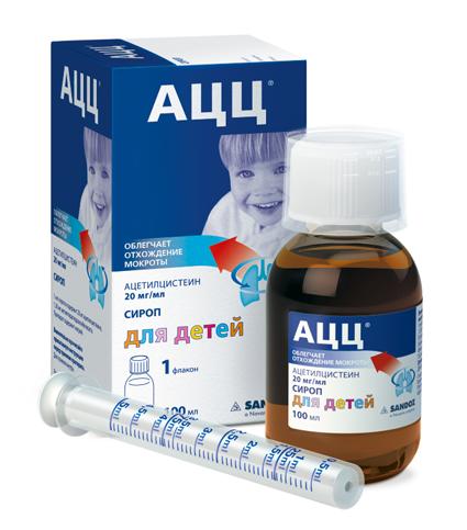 таблетки ацц для детей инструкция