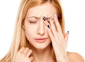 Болит голова давит на глаза и температура