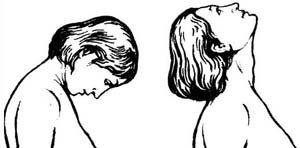 наклоны головы